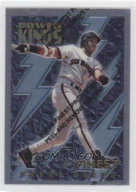 1995 Topps Finest - Power Kings #PK17 - Barry Bonds