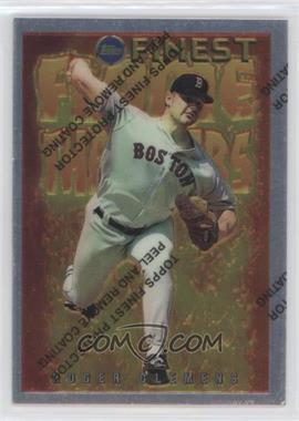 1995 Topps Finest Flame Throwers #FT2 - Roger Clemens