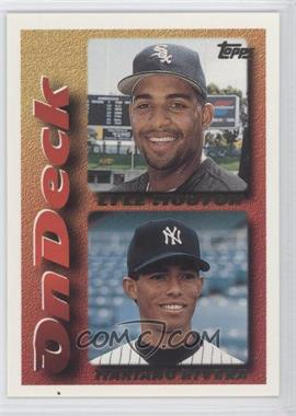 1995 Topps Traded & Rookies #130T - Lyle Mouton, Mariano Rivera