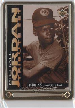 1995 Upper Deck/Metallic Impressions Michael Jordan Tribute #JT1 - Michael Jordan