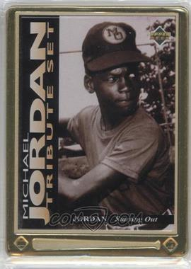1995 Upper Deck/Metallic Impressions Michael Jordan Tribute #JT1 - Michael Jordan