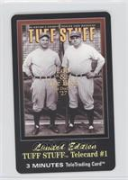 Lou Gehrig, Babe Ruth