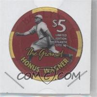 1996 Bally The Grand 1936 Inaugural Election 60th Anniversary $5 Chips #HOWA - Honus Wagner