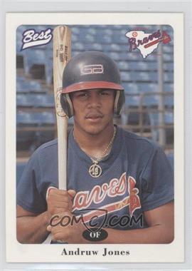 1996 Best Greenville Braves - [Base] #17 - Andruw Jones