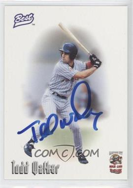 1996 Best Minor League [???] #N/A - Todd Walker
