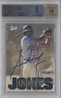 Andruw Jones (Macon Braves) /500 [BGS 9]