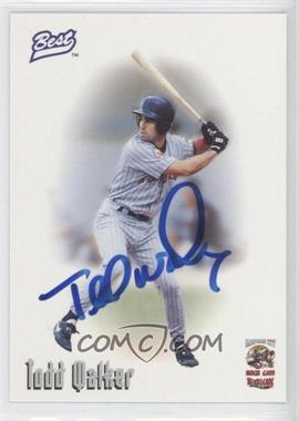 1996 Best Minor League Autographs #TOWA - Todd Walker