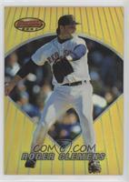 Roger Clemens (Uncorrected Error, Card Number should be 33)