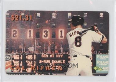 1996 Classic Cal Ripken Jr. Phone Cards - [Base] #N/A - Cal Ripken Jr.