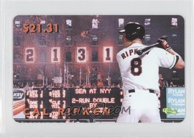 1996 Classic Cal Ripken Jr. Phone Cards #N/A - Cal Ripken Jr.