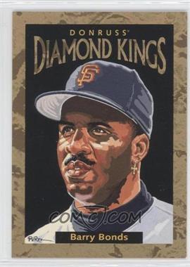 1996 Donruss - Diamond Kings #DK-8 - Barry Bonds /10000
