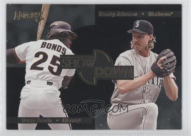 1996 Donruss - Showdown #2 - Barry Bonds, Randy Johnson /10000