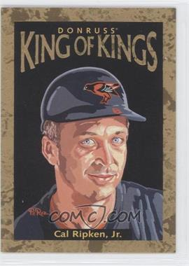 1996 Donruss Diamond Kings #DK-30 - Cal Ripken Jr. /10000