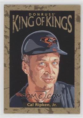 1996 Donruss Diamond Kings #DK-30 - Cal Ripken Jr. /10000