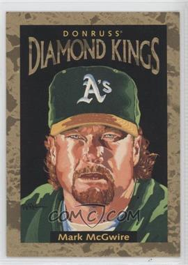 1996 Donruss Diamond Kings #DK-4 - Mark McGwire /10000