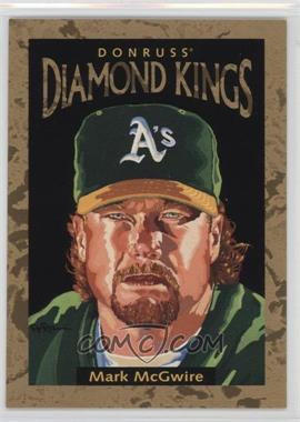 1996 Donruss Diamond Kings #DK-4 - Mark McGwire /10000