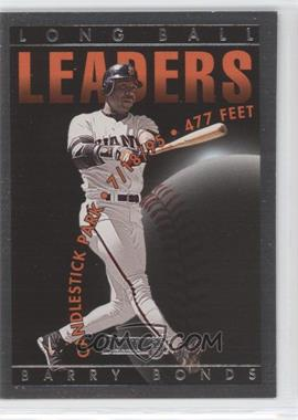 1996 Donruss Long Ball Leaders #1 - Barry Bonds /5000