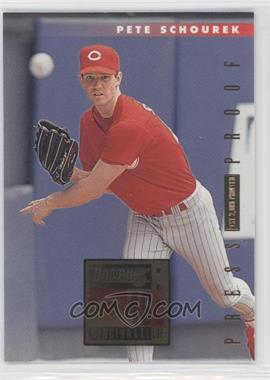 1996 Donruss Press Proof #85 - Pete Schourek /2000