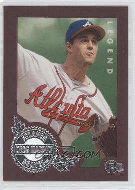 1996 E-Motion XL - [Base] #146 - Greg Maddux