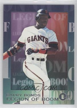 1996 E-Motion XL - Legion of Boom #2 - Barry Bonds