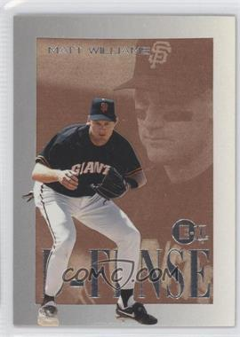1996 E-Motion XL D-FENSE #10 - Matt Williams