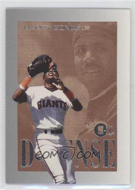 1996 E-Motion XL D-FENSE #2 - Barry Bonds