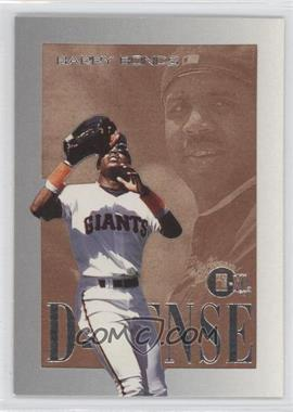 1996 E-Motion XL D-FENSE #2 - Barry Bonds
