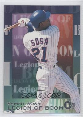 1996 E-Motion XL Legion of Boom #9 - Sammy Sosa
