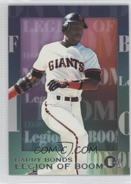 1996 E-XL [???] #2 - Barry Bonds
