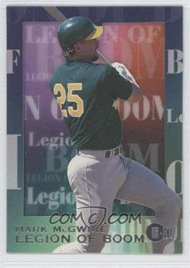 1996 E-XL [???] #5 - Mark McGwire