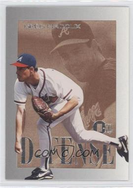 1996 E-XL [???] #6 - Greg Maddux