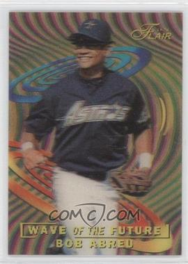 1996 Flair [???] #1 - Bobby Abreu