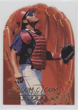 1996 Flair Hot Glove #9 - Ivan Rodriguez