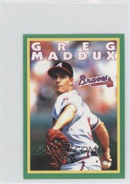 1996 Fleer Album Stickers #118 - Greg Maddux