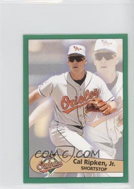 1996 Fleer Album Stickers #128 - Cal Ripken Jr.