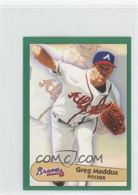 1996 Fleer Album Stickers #4 - Greg Maddux