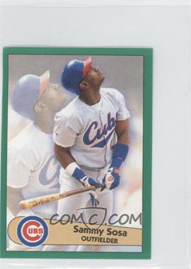 1996 Fleer Album Stickers #48 - Sammy Sosa