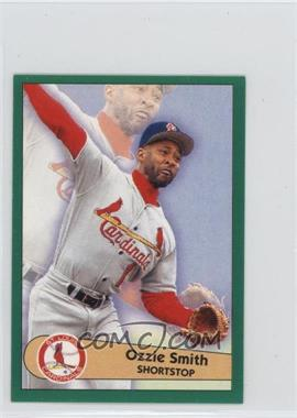 1996 Fleer Album Stickers #74 - Ozzie Smith