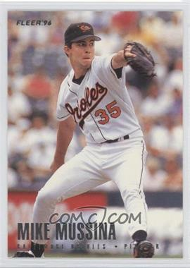1996 Fleer Team Sets - Baltimore Orioles #11 - Mike Mussina