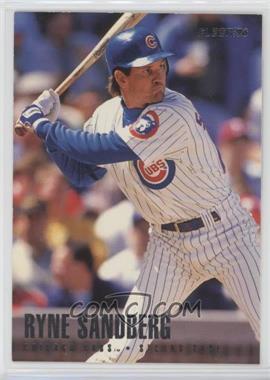 1996 Fleer Team Sets - Chicago Cubs #15 - Ryne Sandberg
