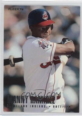 1996 Fleer Team Sets - Cleveland Indians #15 - Manny Ramirez
