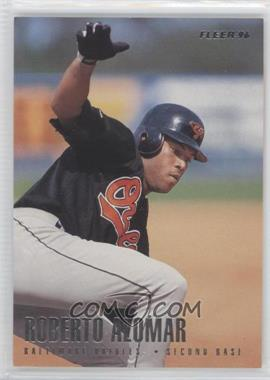 1996 Fleer Team Sets Baltimore Orioles #1 - Roberto Alomar