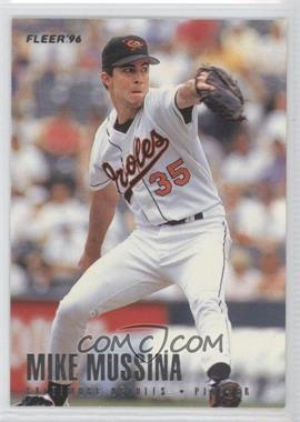 1996 Fleer Team Sets Baltimore Orioles #11 - Mike Mussina