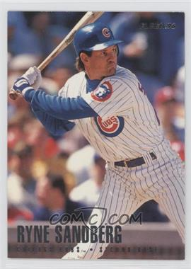 1996 Fleer Team Sets Chicago Cubs #15 - Ryne Sandberg