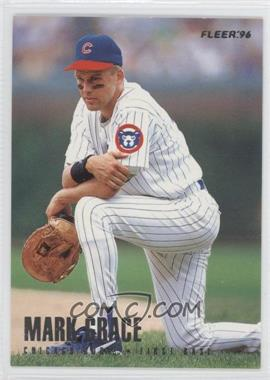 1996 Fleer Team Sets Chicago Cubs #7 - Mark Grace