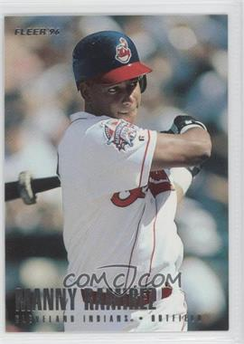 1996 Fleer Team Sets Cleveland Indians #15 - Manny Ramirez