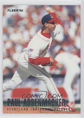 1996 Fleer Team Sets Cleveland Indians #2 - Paul Assenmacher