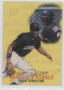 1996 Fleer Ultra - Golden Prospects #15 - Chris Singleton