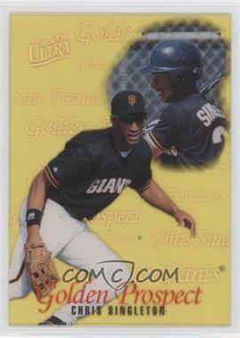 1996 Fleer Ultra Golden Prospects #15 - Chris Singleton