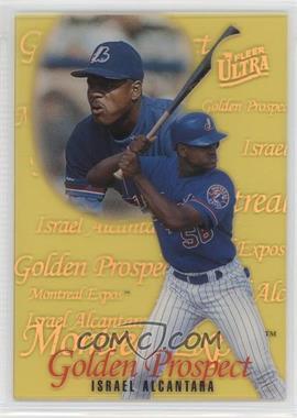 1996 Fleer Ultra Golden Prospects #2 - Israel Alcantara